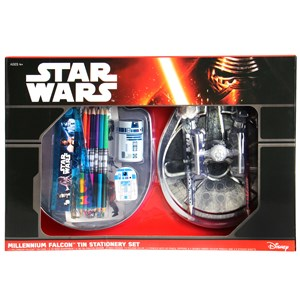 27360 - Star Wars Millennium Falcon Tin Stationery Set