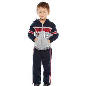 Boys Basketball Touch Down Hoodie Set