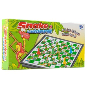 27551 - Childrens Snake and Ladders Board Game