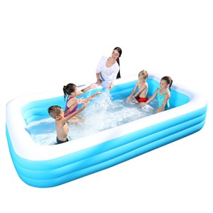 27570 - Deluxe Rectangular Inflatable Pool
