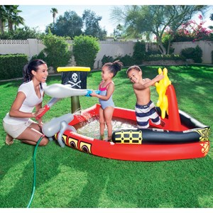 Inflatable Pirate Play Pool
