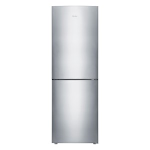 27593 - Haier 348L Satina Bottom Mount Fridge Freezer