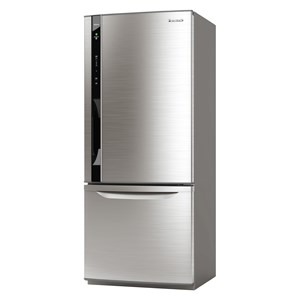 27613 - Panasonic 421L Bottom Mount Fridge Freezer