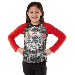 27747 - Girls Live and Let Live Tiger Top