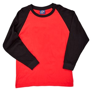 27754 - Boys Raglan Long Sleeve Tee