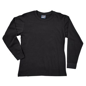 Boys Basic Crew Neck Long Sleeve Tee