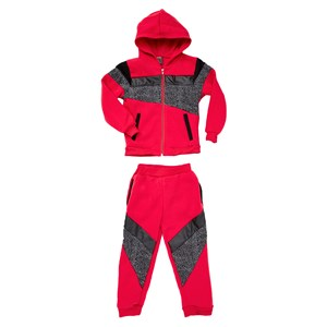 Boys Colourblock 2 Piece Jog Set