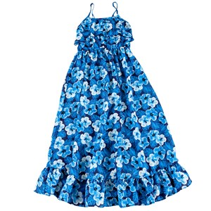 Girls Printed Maxi Dress