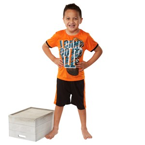28253 - Boys 2pc PJ Shorts Set