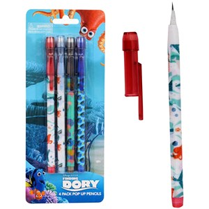 28288 - Finding Dory Pop-Up Pencil 4 Pack