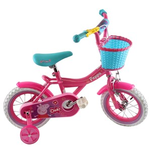"Peppa Pig 12"" Bike with Inflatable Tyres"