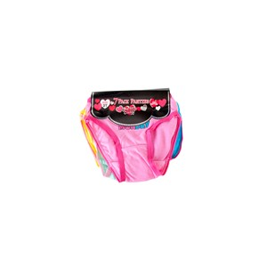 28520 - Toddler Girls Days of the Week 7Pk Briefs