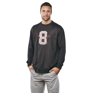 28696 - Pro League Mesh Overlay Crew Sweat