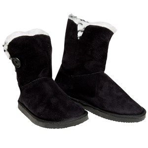 28728 - Ladies Fluffy Cuff Slipper Boots
