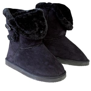 28729 - Ladies Side Button Boot