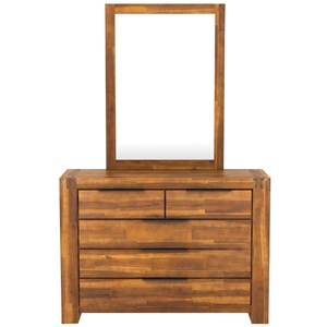 28740 - Aston Dressing Table and Mirror