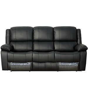 28747 - Brighton 3 Seater Sofa with 2 Built-In Reclining Sections
