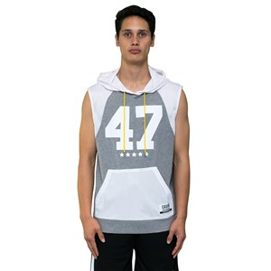 Cache Sleet Sleeveless Hoodie Plus Sizes