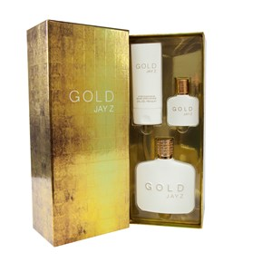 29151 - Jay Z Gold 3 Piece Gift Set