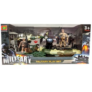 Warrior Mission Military Playset