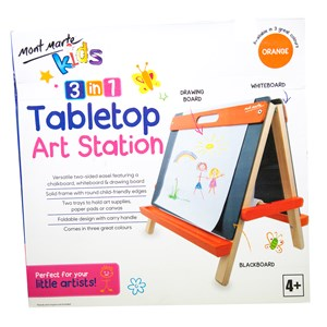 Kids Tabletop Art Station