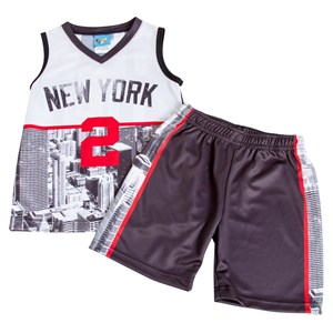 Boys NY Tank & Shorts Set