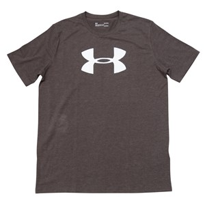 29395 - Under Armour Big Logo Charocal Tee