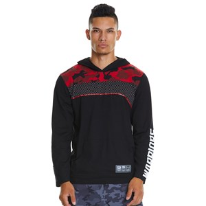29429 - NRL Warriors Camo Yoke Long Sleeve Tee
