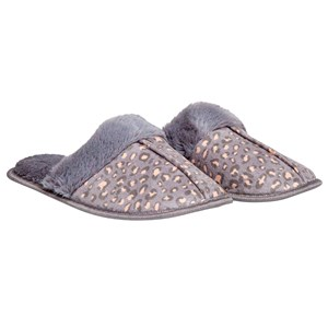 29455 - Ladies Leopard Print Slide Slippers
