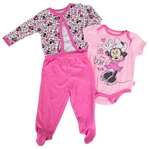 29541 - Infant Girls Minnie Jacket 3 Piece Set
