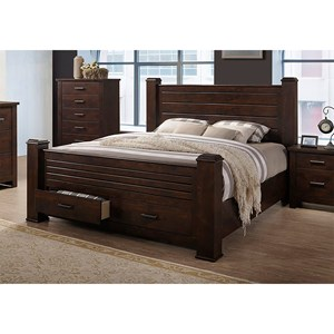 29882 - Limerick Queen Bed with Storage Box