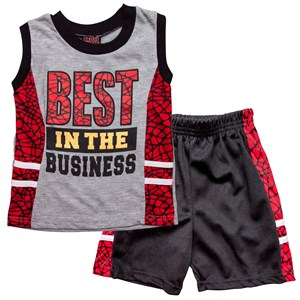 29978 - Boys Best Tee and Shorts Set