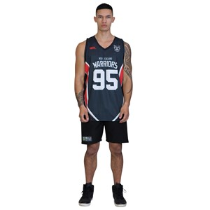 30004 - NRL Warriors Eyelet Singlet