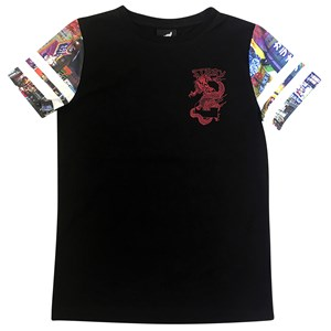 30025 - Stray Boys Soba Contrast Sleeve Tee