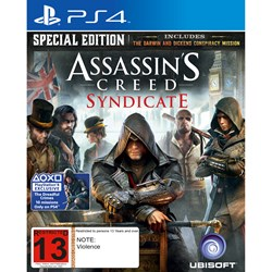 PS4 Assassins Creed Syndicate Special Edition