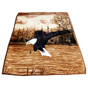 30216 - Eagle Mink Blanket