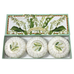 30280 - Lily of the Valley Boxed Soaps 3 x 100gm