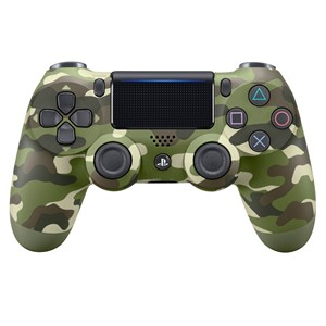 30322 - PS4 Playstation 4 Dualshock 4 Wireless Controller Green Camo