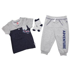30426 - Sport Infant Boys Adventure 3pc Pants Set
