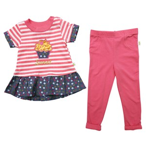 30428 - Sweet Cupcake 2 Piece Ruffle Set