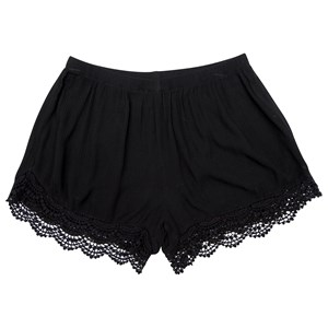 30472 - Ladies Crinkle Lace Trim Shorts