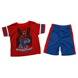 30488 - Toddler Boys Spider-Man 2 Piece Mesh Shorts Set