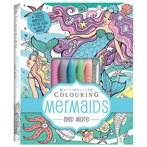 30557 - Kaleidoscope Colouring Kit - Mermaids and More
