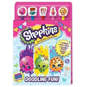 30558 - Shopkins Pencil Set 5 Piece