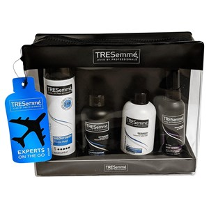 30650 - Tresemme Travel Bag 4 Piece Gift Set