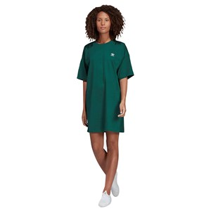 30700 - Adidas Trefoil Logo Dress Green
