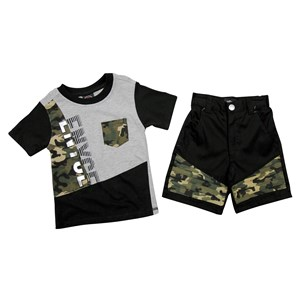 30782 - Infants Enyce Camo Splice 2pc Shorts Set
