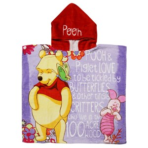 31086 - Pooh Picnic Hooded Towel