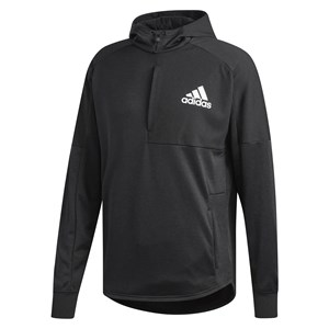 31100 - Adidas Team Issue Pull Over Hoody Black