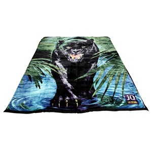 31139 - Black Panther Mink Blanket